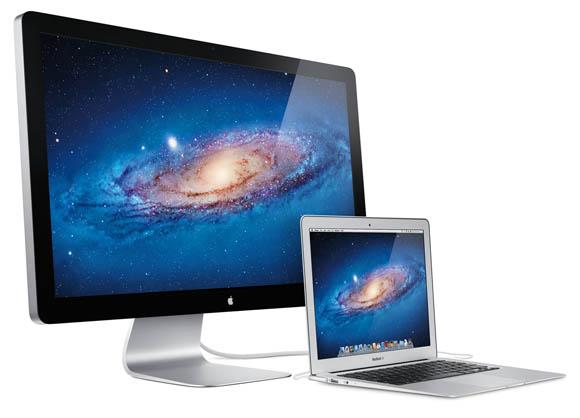 Apple Thunder Bolt Display Apple unveils Worlds First Thunderbolt Display
