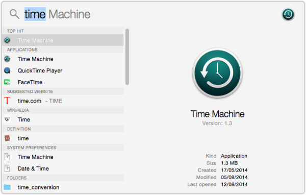 OS X Yosemite Time Machine 600x382 What Folders To Exclude From Time Machine Backups