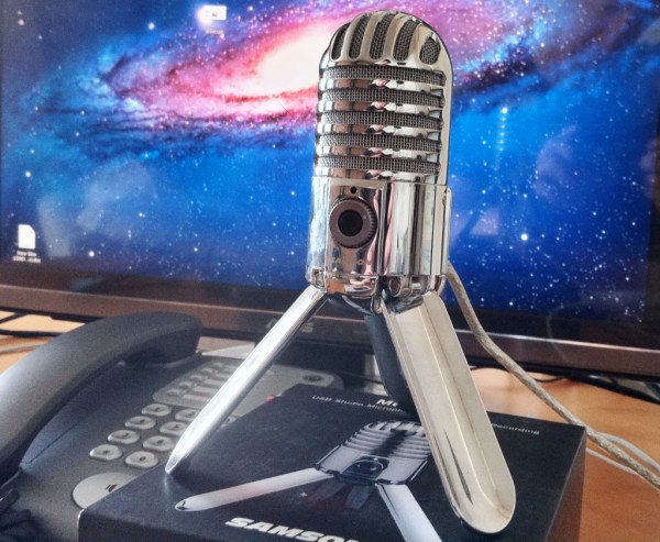Samson Meteor Mic Cropped Image1 Review : Samson Meteor Mic   USB Microphone with Great Retro styling