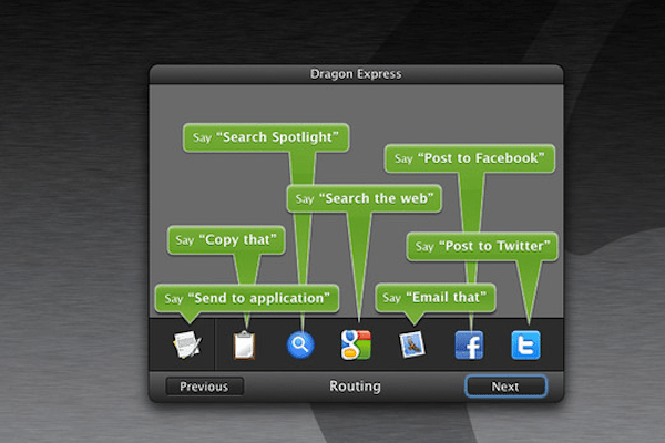 Dragon Express Commands Nuance Dragon Express, an attempt to bring Siri to the Mac?