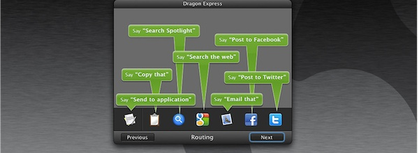 Dragon Express Header Nuance Dragon Express, an attempt to bring Siri to the Mac?