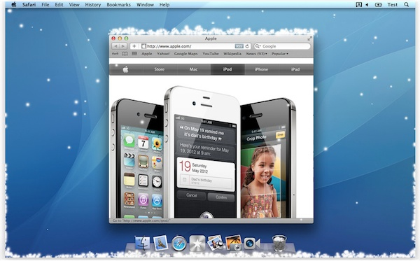 Let it snow screenshot Let It Snow   ilia software.  Festive Snow Screensaver For Mac