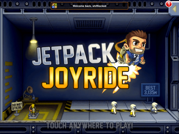 JetPack JoyRide Boot JetPack Joyride : Theres addictive and then theres JetPack Joyride