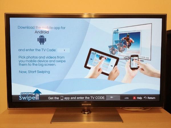 Samsung Swipeit Samsung Swipeit to Rival Apple Airplay