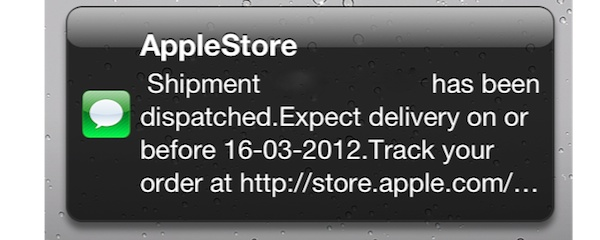 iPad3 Shipping The New iPad shipping early to customers?