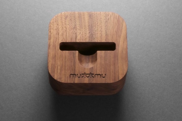 mumu desk dock mu mu set to release the SLIDE THIN, a gorgeous hardwood iPhone case