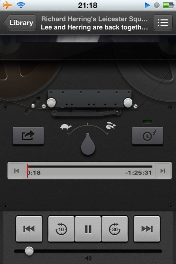 20120626 211918 Reviewed : Podcasts App From Apple   Comes Early