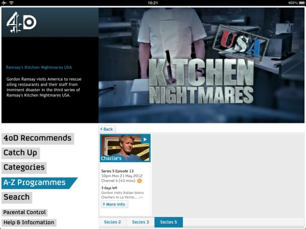 4od Channel Watching How To Watch TV On Your iPhone or iPad
