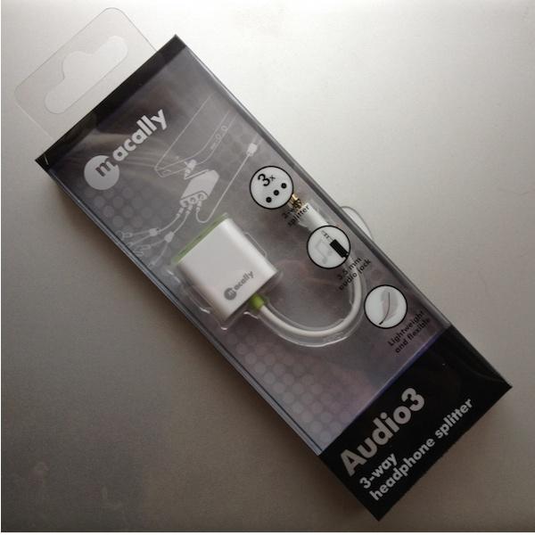MacAlly Audio3 Reviewed : Macally Audio3 3 Way Headphone Splitter