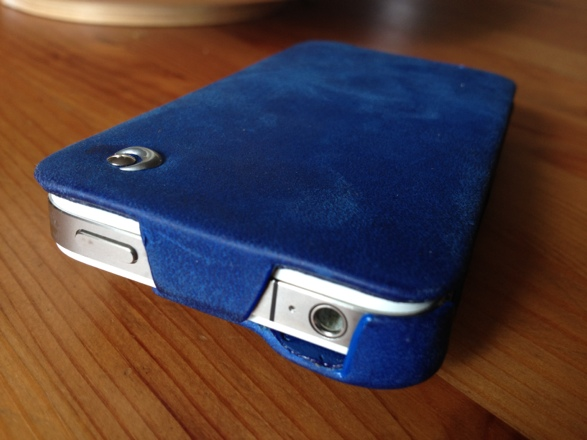 20120828 141056 Review : Noreve Exceptional Selection Leather iPhone Case