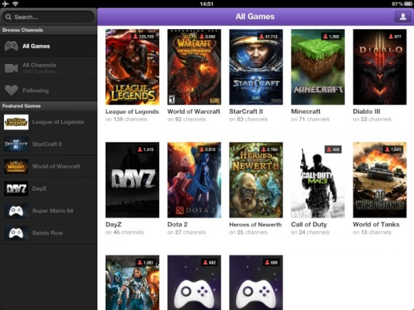 TwitchTV iOS App 600x450 Reviewed : Twitch.TV iOS app   Sigh, A frustrating mess but Im hooked   UPDATE IT FINALLY WORKS!