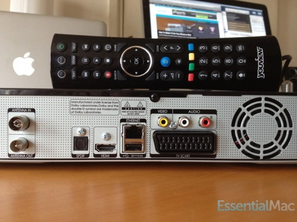 YouView Connectors 600x450 Review, Hands On : YouView Humax DTR T1000 PVR with IP TV