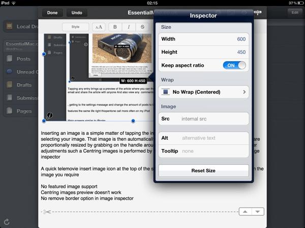 EF7E1C99 C2E5 4C7D 8422 3AD38E645C7D Posts THE Essential iPad blogging tool Reviewed
