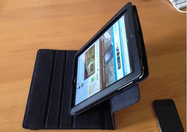 ipevo portrait Reviewed : IPEVO PV 01 360 Degrees Rotating Folio Case for the new iPad 3 and iPad 2