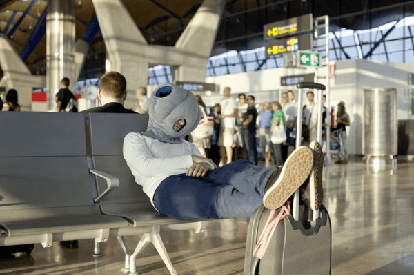ostrich power nap Ostrich Pillow, the ultimate power napping accessory.