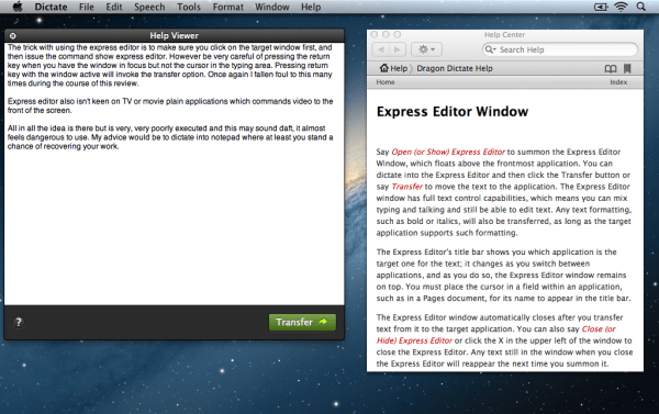 Dragon Express Editor Fail 600x377 DragonDictate 3 Express Editor Review : Be Warned Its Too Easy To Loose Work!