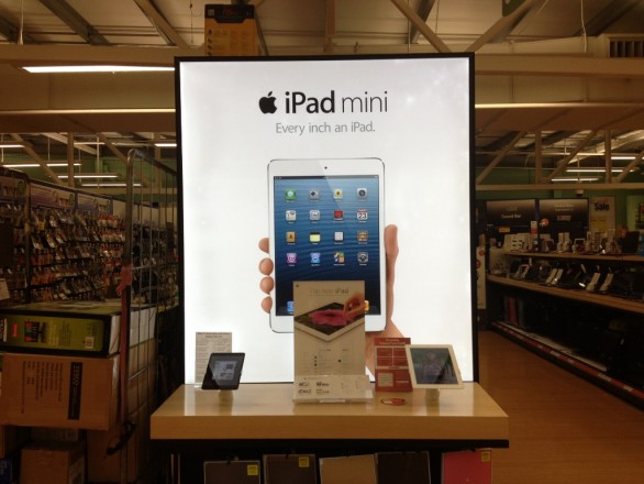 iPad Mini Arrives At Tesco 586x440 Tesco To Stock New iPad and iPad Mini From 2nd November 2012