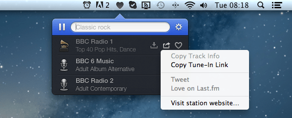 Radium 3 Link Sharing Radium 3 : The Best Internet Radio Player For Mac