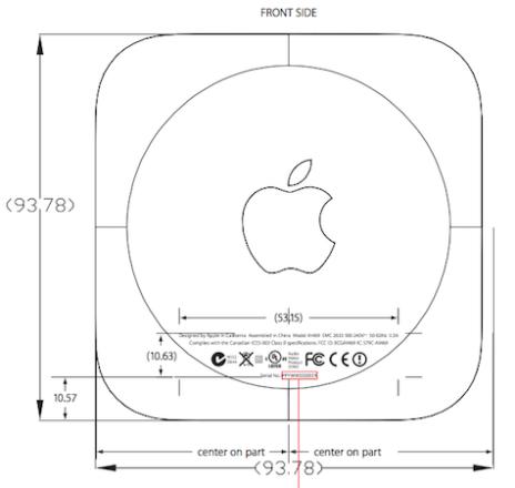 apple tv fcc 464x440 Smaller Apple TV, A1469, Faster Chip, Single Antenna On The Horizon
