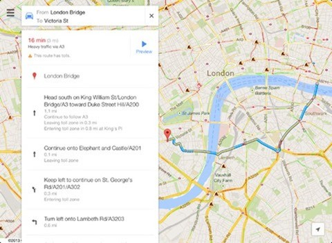 google maps 2 ios 3 Google Maps 2.0 hits iOS devices, comes with new and enhanced features