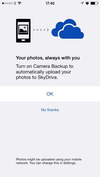 1385056103 Updated SkyDrive App Automatically Backs Up All Your Photos