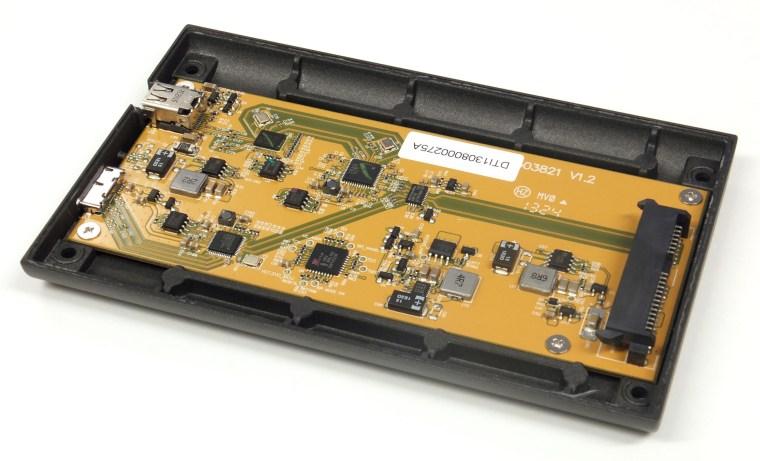 elgato thunderbolt drive pcb Elgato Thunderbolt Drive+ Portable SSD Review