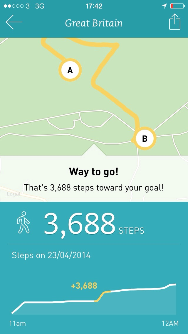 20140425 174314 Review: Breeze A Gorgeous Step Tracking And Motivation From Runkeeper