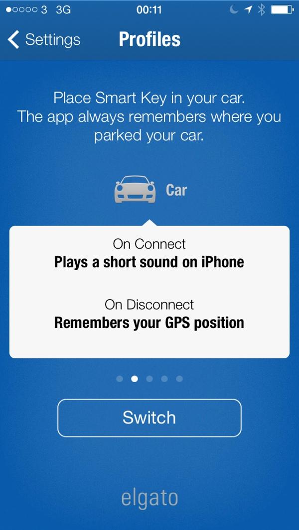 Menu Elgato Smart Key Profile Car Elgato Smart key Review : Never loose your keys again
