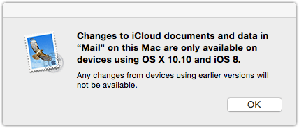 Changes To iCloud Documents And Data OS X Yosemite, Why The Beta Might Not Be The Best Idea For You