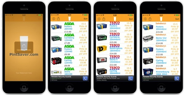 Pintsaver App1 AOTD: PintSaver.  Find the Best Beer Deals Right From Your iPhone