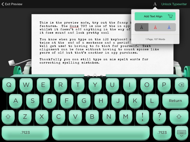 wpid Photo 20140819055102 Hanx Writer TypeWriting App.  From Tom Hanks Dontcha Know
