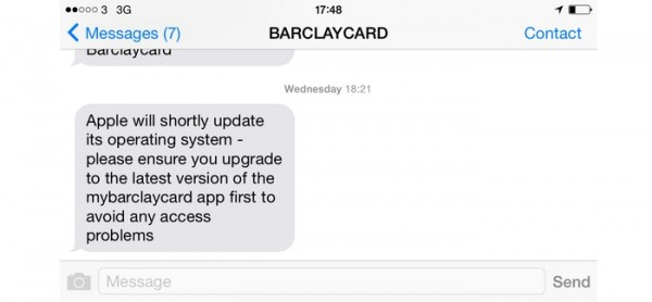 Barclays Apple Banking 600x278 Did Barclays Bank Just Drop A Massive Hint About iPhone Payments