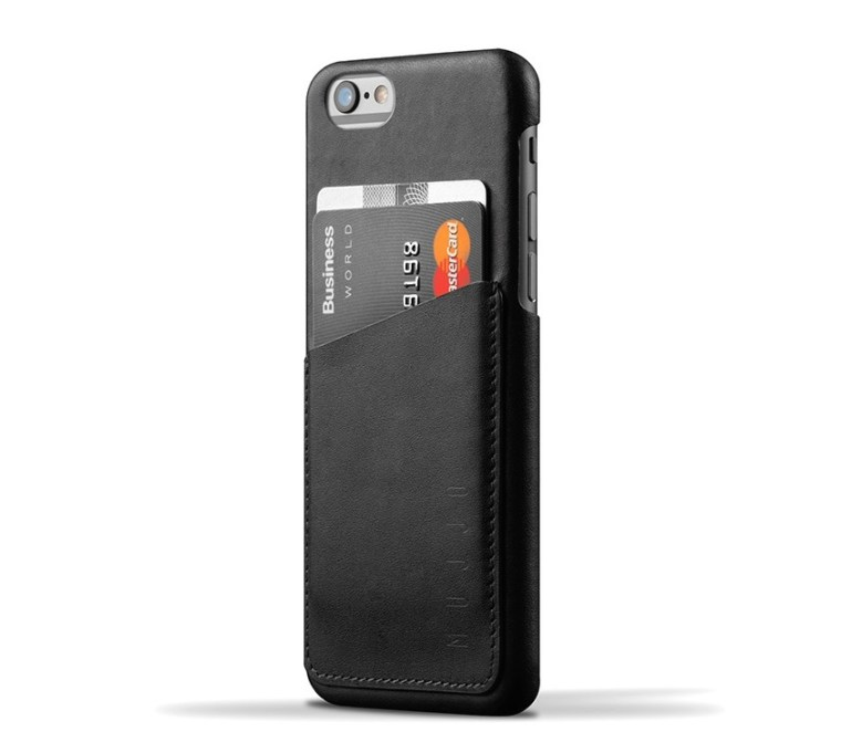 Mujjo Leather Wallet Case for iPhone 6
