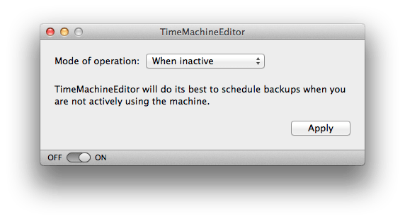 1416324039 thumb How To Change The Time / Frequency Of Time Machine Backups