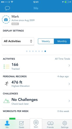 RunKeeper Activities 247x440 Burn Off The Xmas Calories With The Best Running Apps for your iPhone