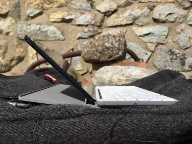 Microsoft Universal Mobile Keyboard Position 2 Microsoft Universal Mobile Keyboard Review.