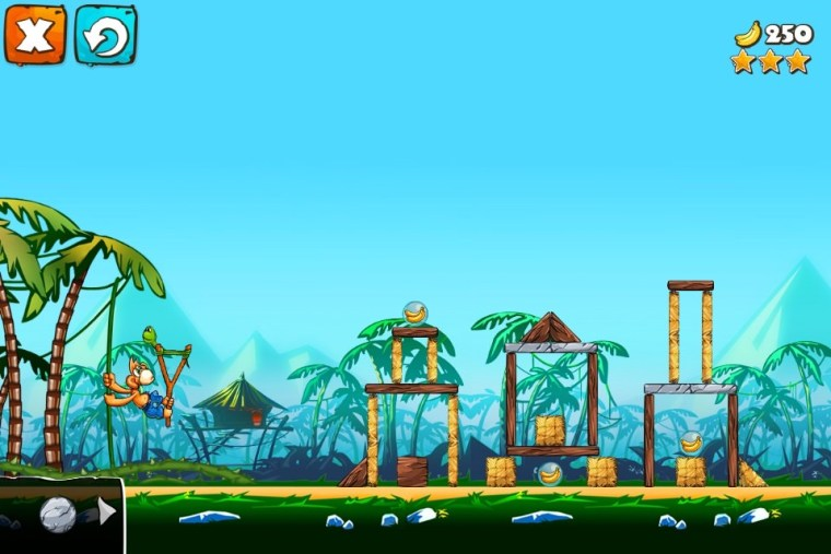 Jungle Treasures 2 GamePlay Review : Jungle Treasures 2, Angry Birds But With Monkeys?