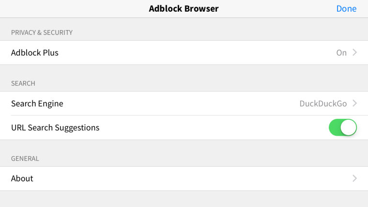 image3 Adblock Plus releases its web browser for iOS