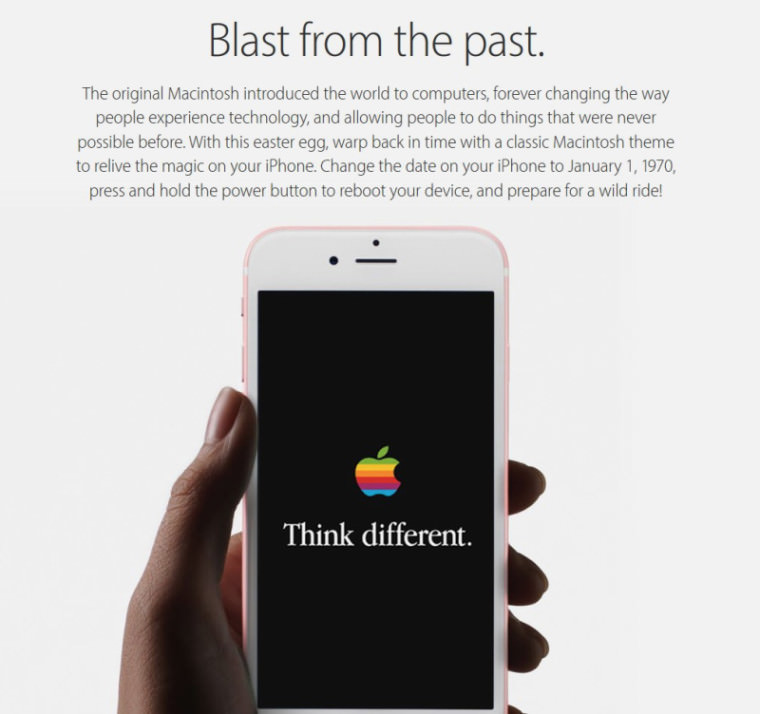 Apple Blast From The Past Apple acknowledges 1970 Bug, fix on the way.