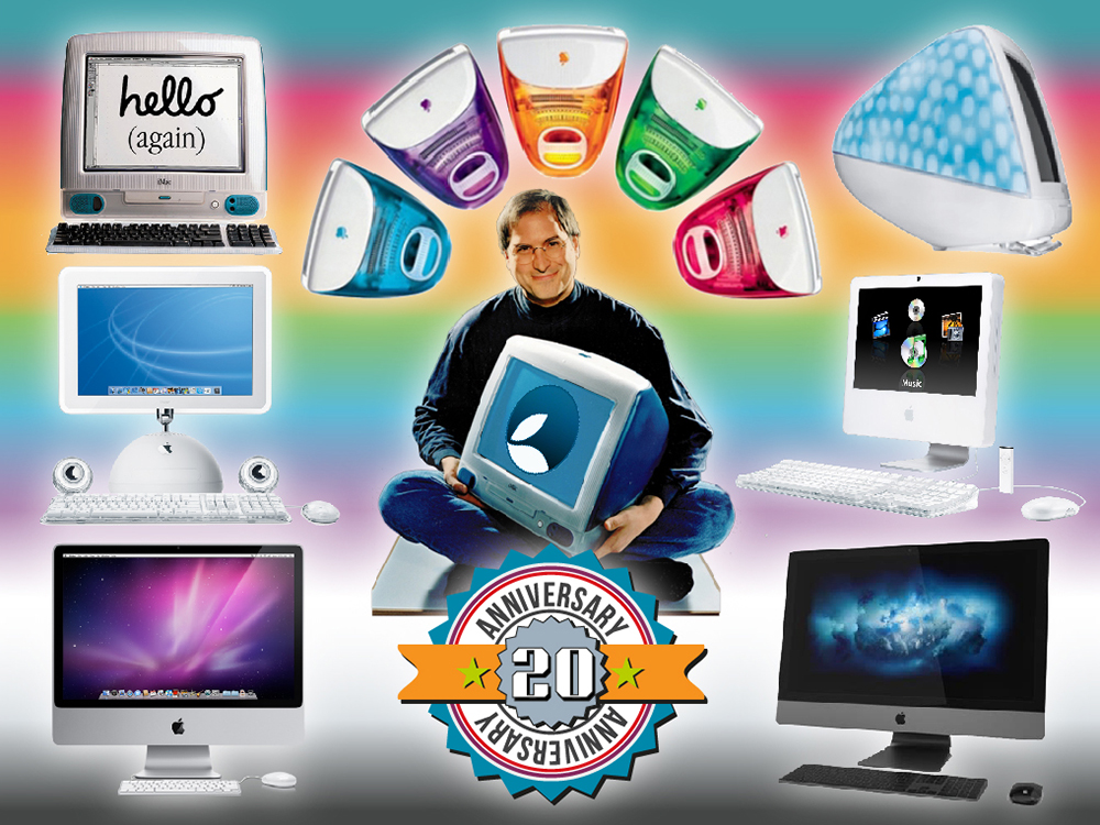 Essential Apple Podcast 101: iMac is 20! |