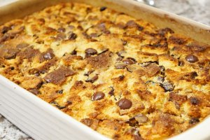 Essential Baking Company Pannettone Bread Pudding