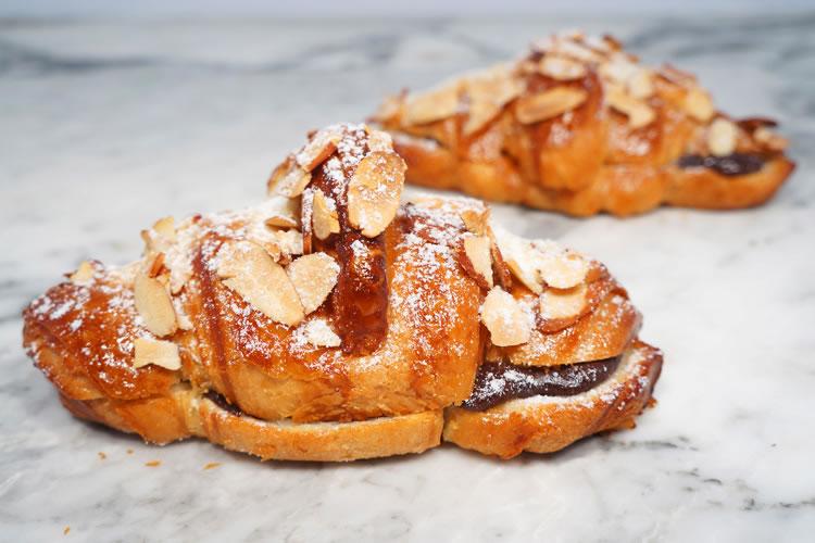 Croissant: Chocolate Almond Croissants