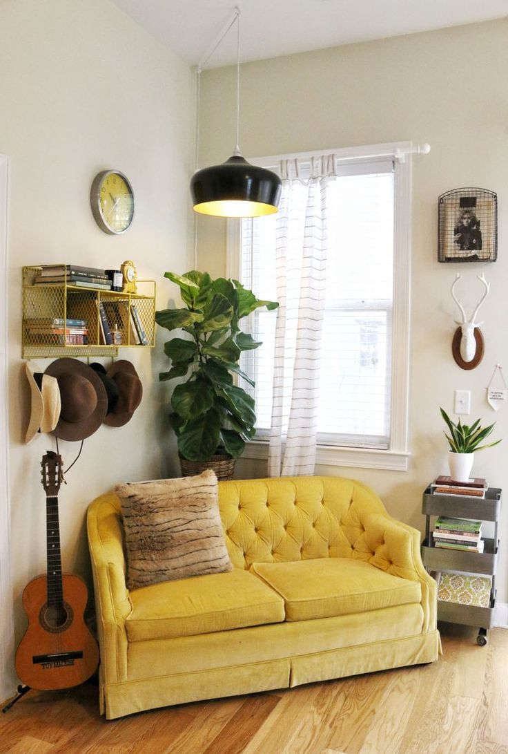 Sofa As An Accent Element Of The Interior For And