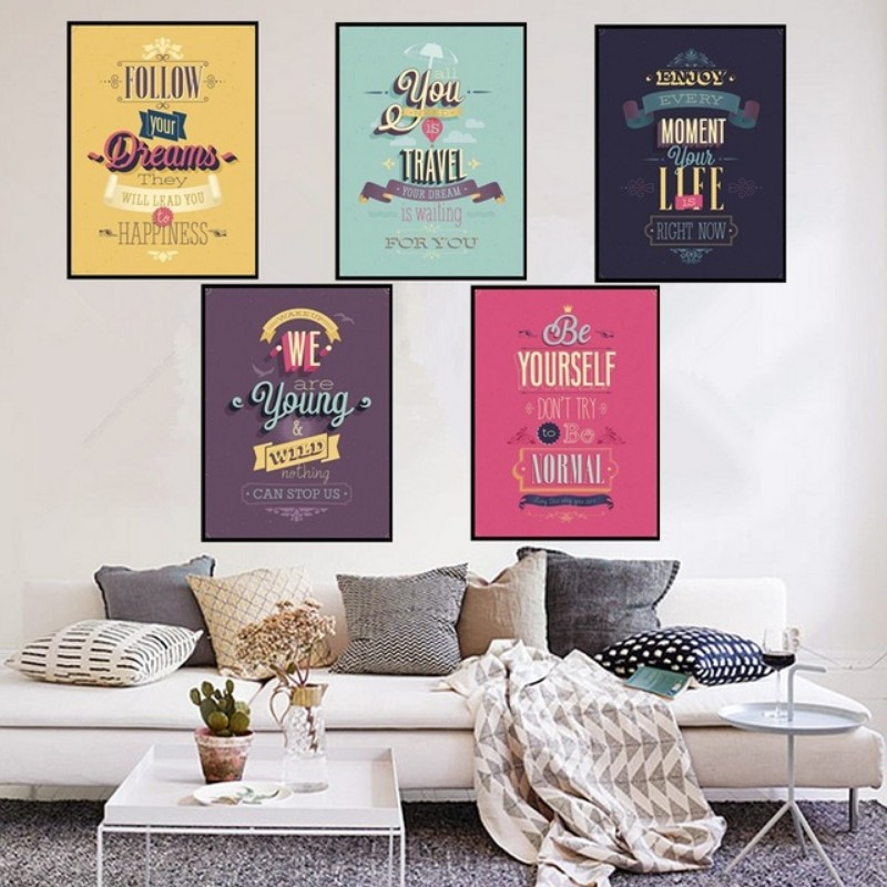 Living Room Wall Decor: 10 Vintage Lifestyle Posters ... on Room Decor Posters id=49352