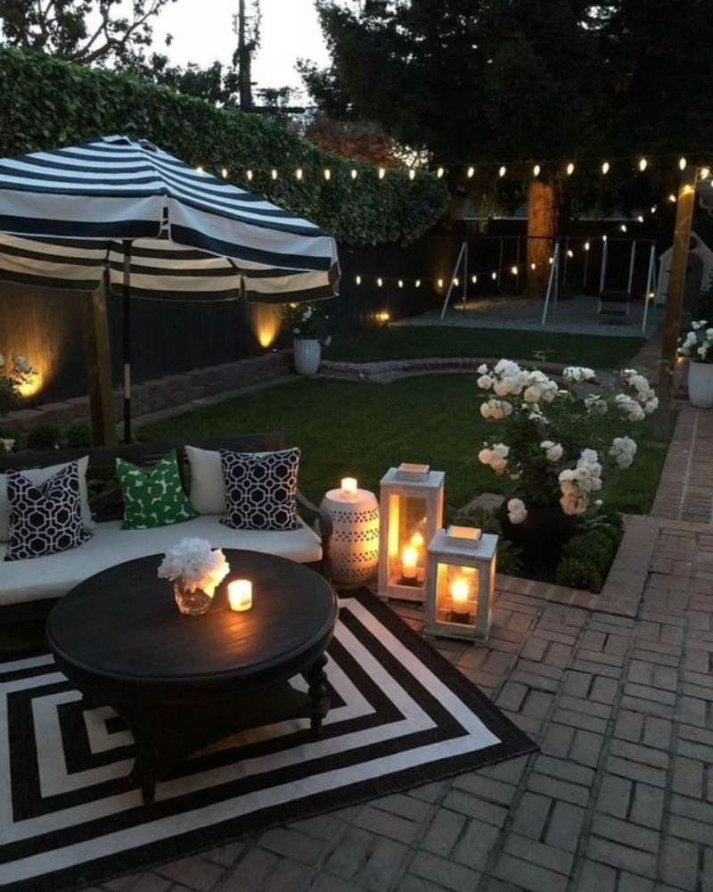Summer Outdoor Decor Ideas For A Sunny Afternoon ... on Lawn Decorating Ideas  id=37539
