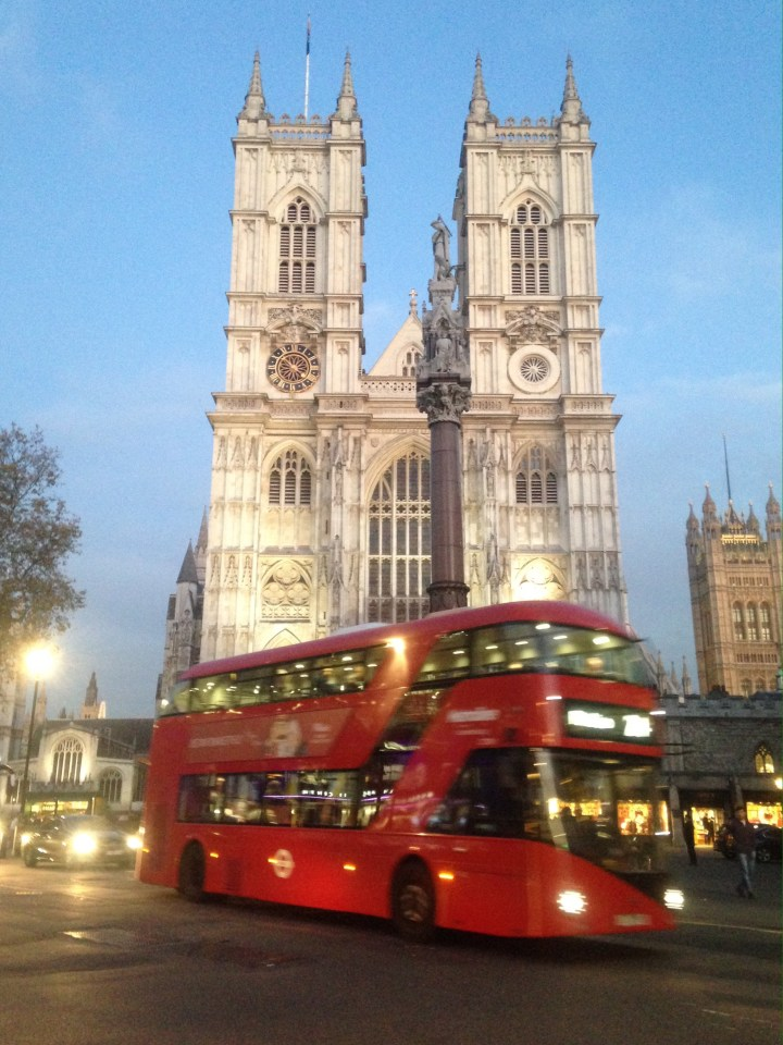 Westminster Abbey evensong service
