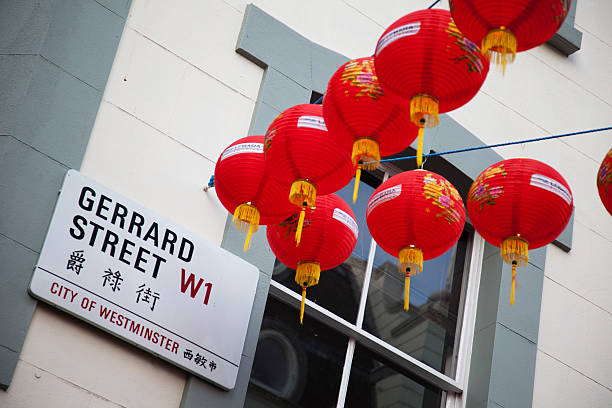 Chinatown and Chinese New Year in London
