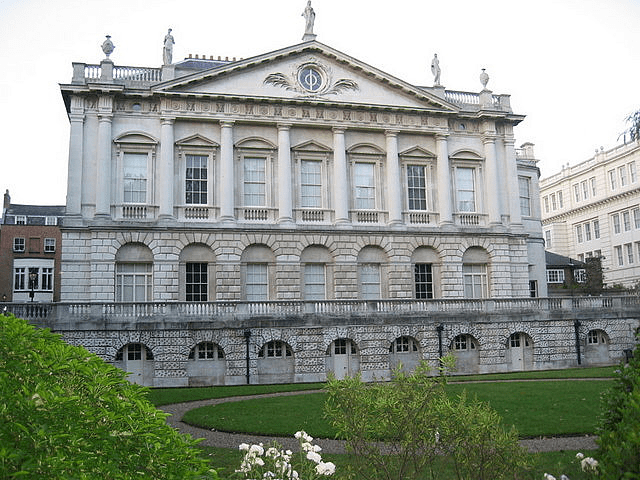 Exterior of Spencer House London Princess Diana
