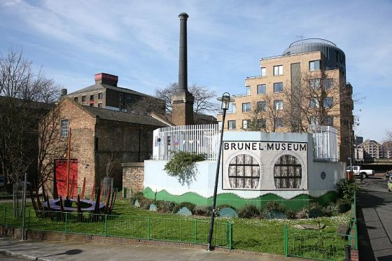 The exterior of the Brunel Museum Rotherhithe
