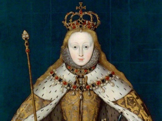 Coronation portrait of Elizabeth I